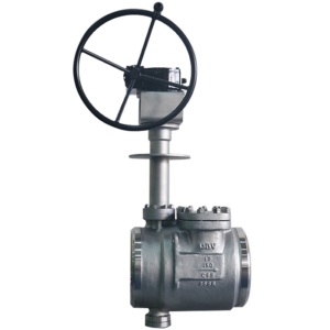 Top Entry Triple Offset Butterfly Valve for LNG