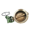 Flange Triple Offest Butterfly Valve with gear-C95800
