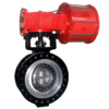 Actuated Butterfly Valve-pneumatic