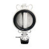 Wafer Concentric Butterfly Valve with Gear