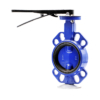 Wafer Concentric Butterfly Valve with lever operateion