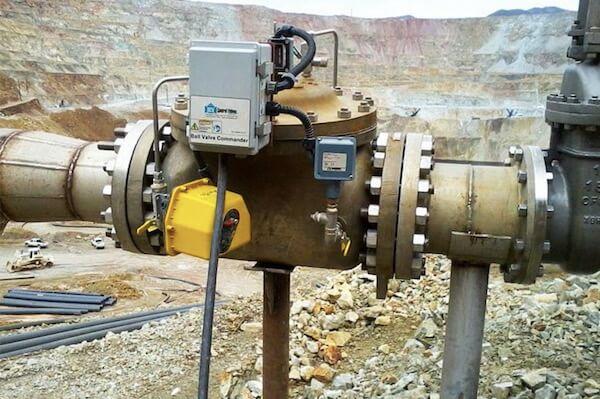 mining industry VALVES