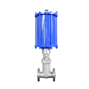 Bellows Seal Gate Valve With Pneumatic